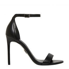 pasadena black stiletto wedding guest shoes  windsor smith