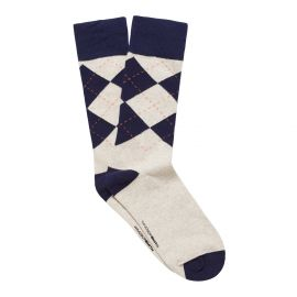 ARGYLE MEN'S DRESS SOCK OAT MARLE