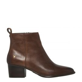 CLIMB CHOCOLATE LEATHER BOOT