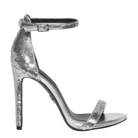 Windsor Smith silver sequin stiletto heels