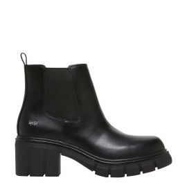 Moves Lipstik Shoes - Non leather gusset festival boot - side view