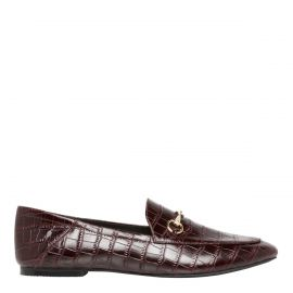 Red croc print slip on shoe - Windsor Smith shoes