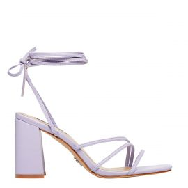 DELIGHT LILAC LEATHER HEEL