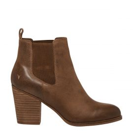 tan boot, gusset boots, womens leather boots