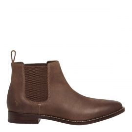 Womens brown gusset boots