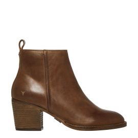 FLEUR TAN LEATHER BOOT