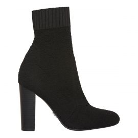 Womens knitted ankle sock boot