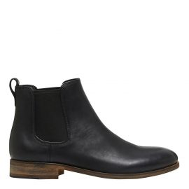 MENS BLACK LEATHER BOOT
