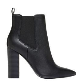 Women's elastic ankle boots - side view - Lipstik Shoes