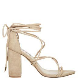 natural suede heels