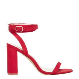 red sale shoes heels