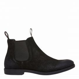 mens black gusset boot
