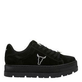 Black platform, flatform sneakers