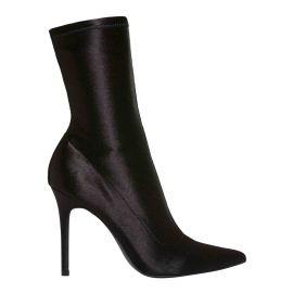 Windsor Smith stiletto black sock boot