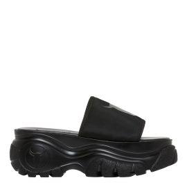 black chunky pool slide