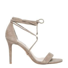 Windsor Smith nougat suede lace up stiletto heel