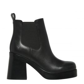 NOTORIOUS BLACK LEATHER BOOT
