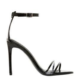 Black Snake Print Formal Shoes