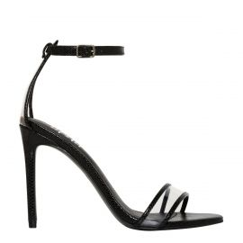 Women's non leather stiletto formal shoes - side view - Lipstik Shoes
