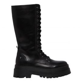 PERSONA BLACK LEATHER BOOT