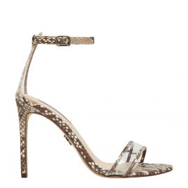 Snake stiletto high heel - side view -  Windsor Smith