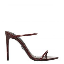 Red stiletto high heel - side view -  Windsor Smith