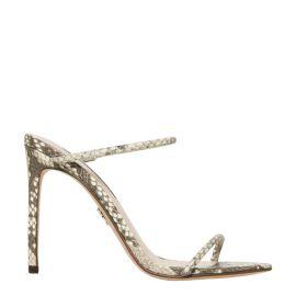 Women's high heel stiletto snake print