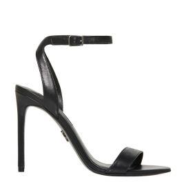Women's ankle buckle stiletto heel - side view - Windsor Smtih