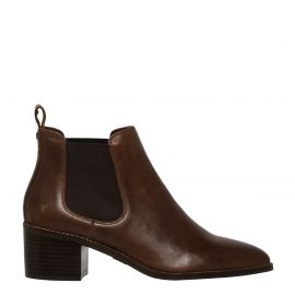 PROMISES CHOCOLATE LEATHER BOOT
