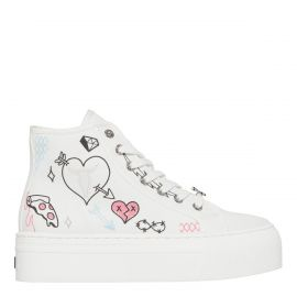 RECKLESS WHITE CANVAS SNEAKER