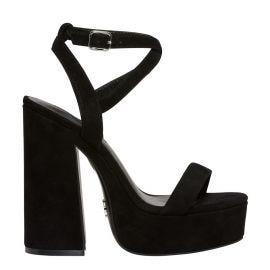 Windsor Smith block heel platform with ankle strap