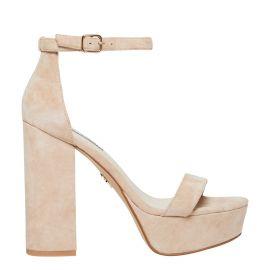 ankle strap platform heel
