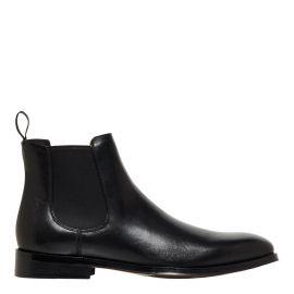 Men's Black wedding dress boot