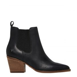 TORMENT BLACK LEATHER BOOT
