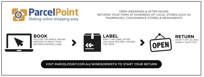 Windsor Smith Outlet Outlet Parcel Point Information